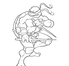 Teenage Mutant Ninja Turtles Coloring Page Coloring Pages