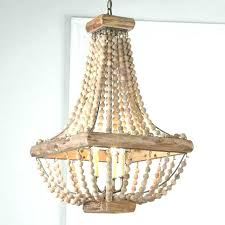 chandeliers wooden beaded chandelier wood bead lamp shades awesome a rod canada