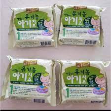 Phô mai tách muối Hàn Quốc ăn dặm cho bé (Set 3 miếng và Set 10 miếng)