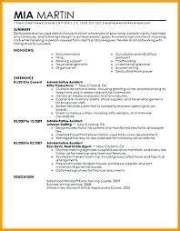 Functional Resume Sample For Fresh Graduate Layout Format Career