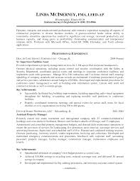 Examples Of Property Management Resume Commercial Manager Samples