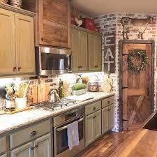 Farmhouse Kitchen Cabinets Decorating Ideas On A Budget Farmhouse