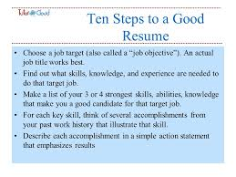 Tips To A Good Resume Tips For Resume Writing Primary Purpose A Resume Will Get