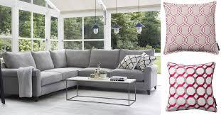 blog grey and pink sofa and cushions