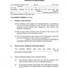 Employment Certificate Sample For Housemaid Best Of Best Waiter Job ...