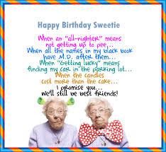 funny birthday letter friend