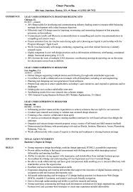 Lead User Experience Designer Resume Samples Velvet Jobs