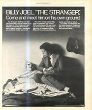Quynhhoz tour the 2019 nekat8 joel billy 2020 stranger the most impressive and stylish indoor decoration poster available trending now. Billy Joel Poster The Stranger Ebay