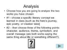 getting the most points on your literary analysis paper ppt 3 analysis