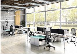 good office design. open plan furniture includes good office design