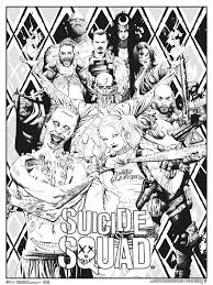 Grizzy and the lemmings coloring pages | new images free printable. Suicide Squad Coloring Pages Pictures Whitesbelfast