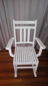 white wooden rocking chair. White Wooden Rocking Chair