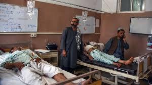 Resultado de imagem para Ashraf Ghani, atual presidente em busca da reeleição, e seu chefe de governo, Abdullah Abdullah.