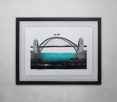 sydney harbour bridge painting