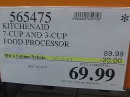 costco cut kitchenaid food processor frugal hotspot