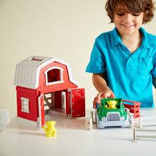 Bộ đồ chơi trang trại Green Toys cho bé từ 2-5 tuổi - Hướng nghiệp nhập vai  Thương hiệu GREEN TOYS