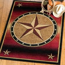 ombre star rug 8 x 10