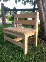 childrens wooden bench beautiful handmade wood by outdoor furniture