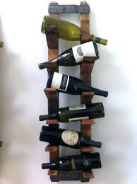 wine racks wall mount wood wine rack hanging by on a mounted wooden bottle mo