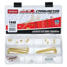 Edelbrock Carb Spring Chart Edelbrock Avs2 Series Carburetor Calibration Kit 1948