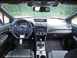 subaru wrx 2016 interior. 2016 subaru wrx cvt interior with optional eyesight system wrx