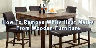 removing white rings from furniture how do you remove white water rings from wood furniture