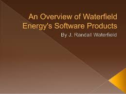 waterfield financial an overview of waterfield energys software products