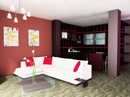 Gorgeous Accent Wall Color Combination With Pendant Light And Modern Sofa  Also Wood Flooring