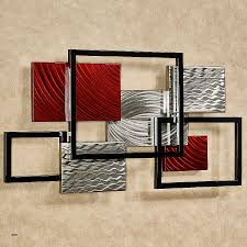 contemporary metal wall art uk best of 15 abstract with clock
