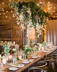greenery and lunaria if your reception venue has a rustic aesthetic opt