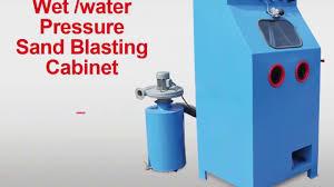 cl 9080 wet sand blasting cabinet