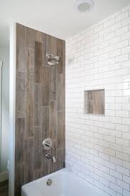 Tile shower images Waterfall 15 Wood Tile Showers For Your Bathroom Shower Wall Tile Ideas Mutasyonnet 15 Wood Tile Showers For Your Bathroom Shower Pole