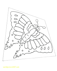 Free Printable Kite Template Printable Kite Template To Colour Colouring Pages Juanbruce Co