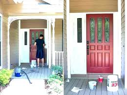steel door painting paint for exterior steel doors best painting metal garage door to look like wood