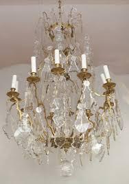 louis xv style crystal pendants chandelier