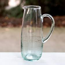 glass iced tea pitcher.  Iced Recycled Glass Iced Tea Pitcher To