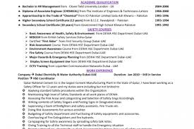 HSE Engineer Resume Resume Templates  Hse Advisor