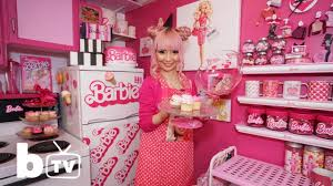 wele to my real barbie dream house