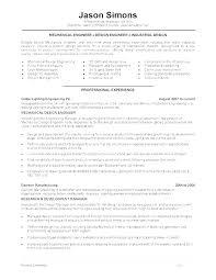 Mechanical Engineer Resume Examples Mechanical Engineer Resume