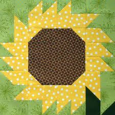 Paper Foundation pieced barn   PAPER PIECED QUILT BLOCK PATTERNS ... & sunflower quilt block patterns free - Google Search Adamdwight.com