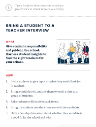 how it works shadow a student challenge ideas for immediate feedback here is a collection of quick wins for you to try after you are done shadowing to make it easier for you to take action