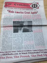 kkk research paper the kkk in the s machining electron beam  kkk s official newspaper supports donald trump for president kkk s official newspaper supports donald trump snyder s treasures kkk ku klux klan memorabilia