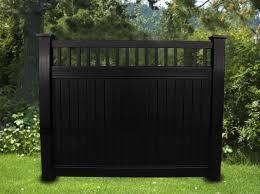 black vinyl privacy fence. Black Vinyl Privacy Fence BLACKline™hhp
