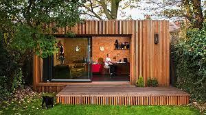 contemporary garden room office