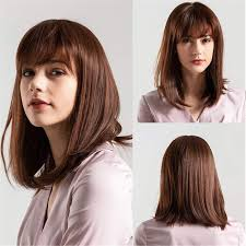 Amazoncom Bywigs Long Brown Straight Wigs For Girls Women Cosplay
