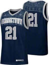 Georgetown Hoyas Nike Navy Replica Basketball Jersey Favorite