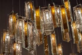 art glass lighting fixtures. Gold Drops - Glass Art Chandelier Lighting Fixtures