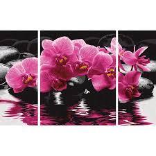 "Schipper Картина-Триптих По Номерам Schipper ""орхидеи ..."