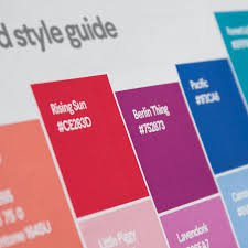 Design Spec Style Color How To Create A Brand Style Guide 99designs