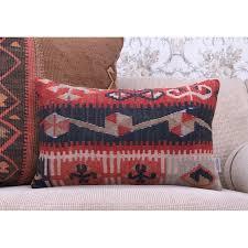 oriental lumbar rug cushion ethnic home decoration sofa throw pillow